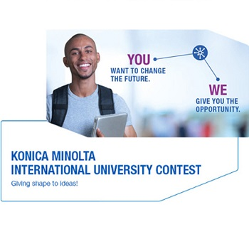 Konica Minolta University Contest open for entries